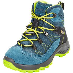 High Colorado Vilan Mid High Tex Zapatillas de senderismo Niñas, blue/green